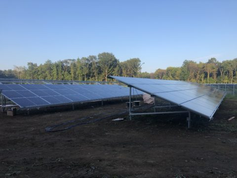 太陽光パネル取り付け工事